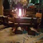 Firepits out front by the pool. Great for romance or family time and smores.