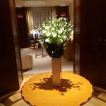 Flowers in the Suite Entrance Hall