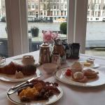 Amazing breakfast at intercontinental Amsterdam , left today from this hotel , was visiting with
