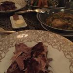 Photos from our Morrocan meal