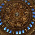The ceiling of St. Paul's Cathedral