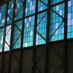 Aviation Museum -  bullet holes in window