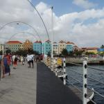 Queen Ema Bridge and Willemstad Punda