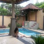 View of pool from lounge, 2-bedroom deluxe villa