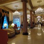 View into the lobby