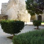 Larnaca Castle - interior - general view of courtyard