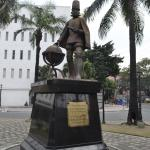 A statue of King Philip II of Spain - the namesake of the Philippines