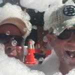 Foam Party, back to your childhood bubble bath.....now with strangers=FUN