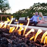 Outdoor Veranda - Fire Feature