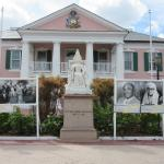 Parliment Square, downtown Nassau