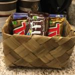 HHonors members! Stay away from the Twix. M&M's ok.