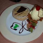 Our favorite - apple pie at the Palace Brazilian steakhouse.