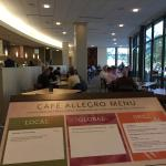 The Cafe Allegro in the museum (equally as fabulous as the museum)