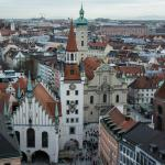 View of Munich from the Tower of City Hall
