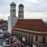 View of Frauenkirche from the Tower of City Hall