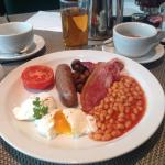 Yummy english breakfast :-p