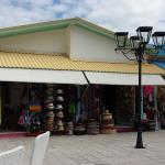 Shopping area on site