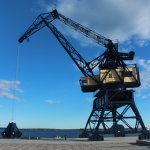 The Old Harbour Crane