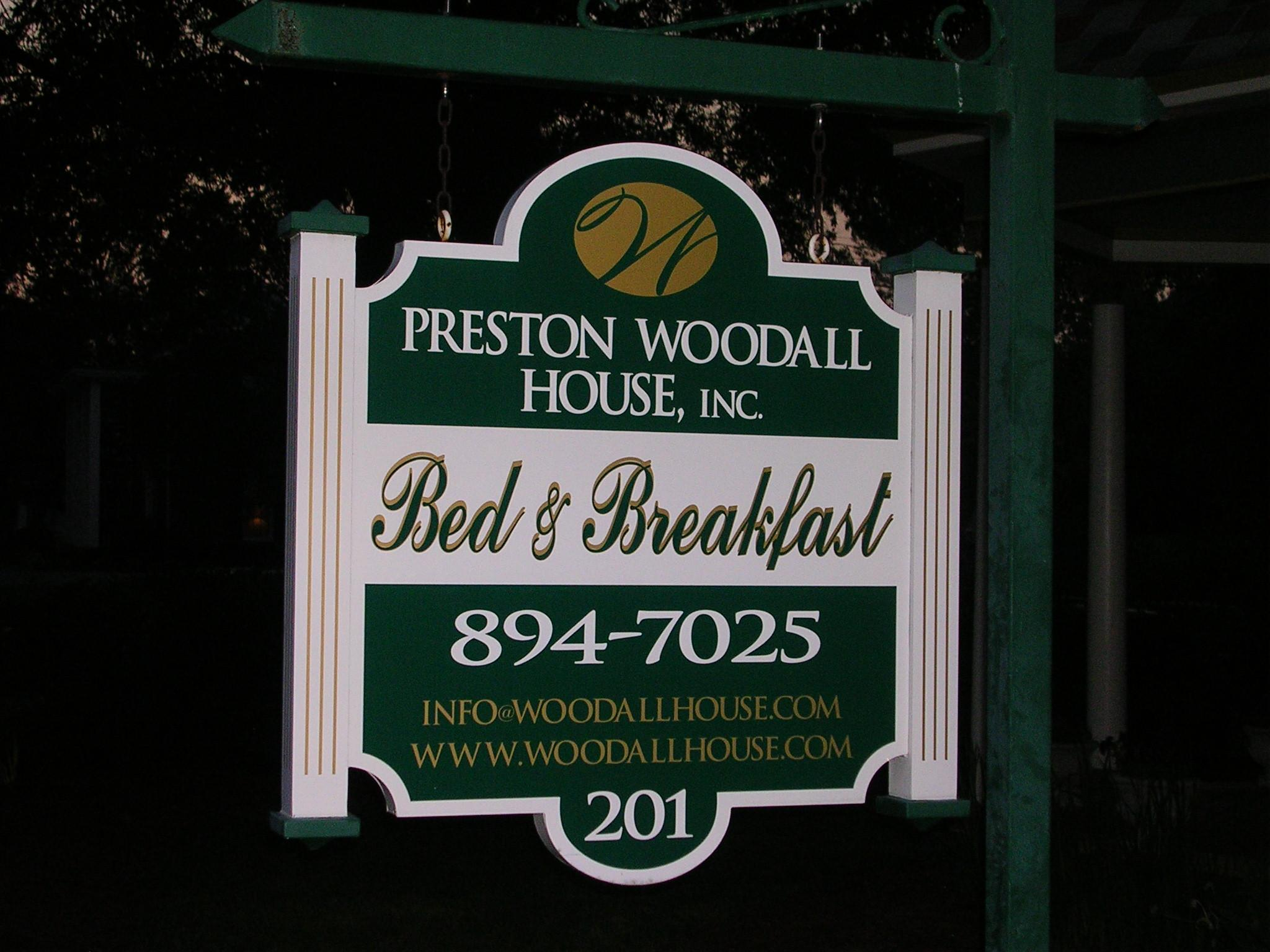 Preston Woodall House Bed and Breakfast