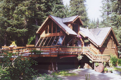 Alaska's Treehouse Bed and Breakfast