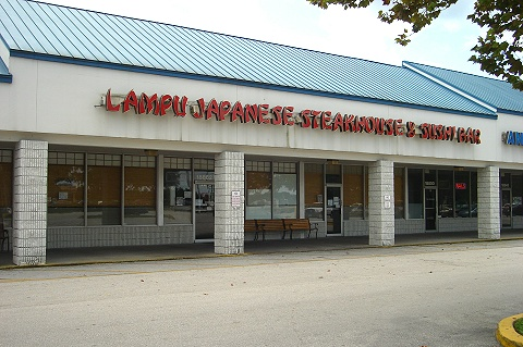 Lampu Japanese Steakhouse