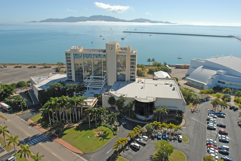 Jupiters townsville hotel & casino address