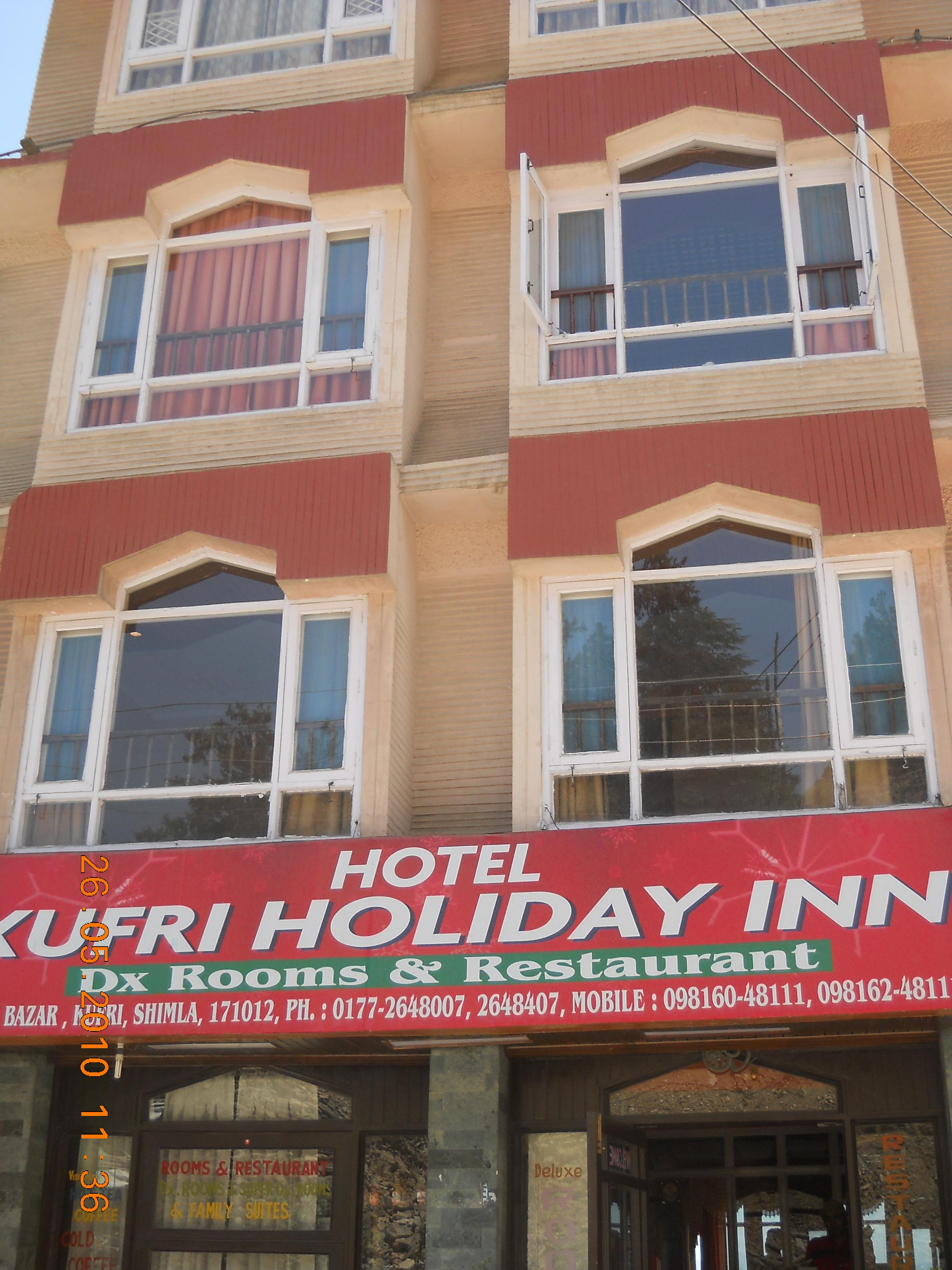 Hotel Kufri Holiday Inn