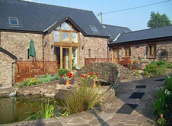 Usk Country Cottages at the Pentre Farm