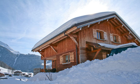 Treeline Chalets - Chalet Plan des Pierrys