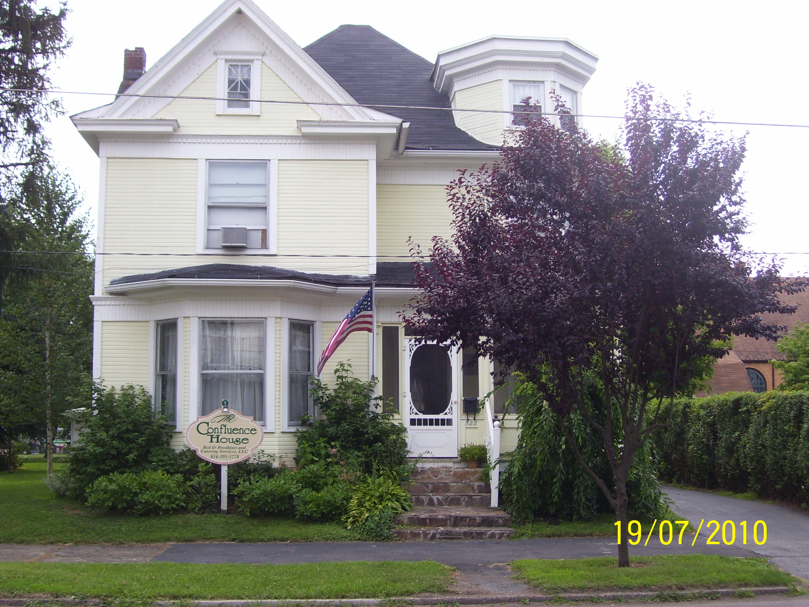 Confluence House Bed & Breakfast and Catering Se