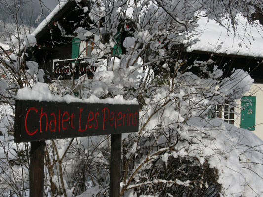 Chalet Les Pelerins
