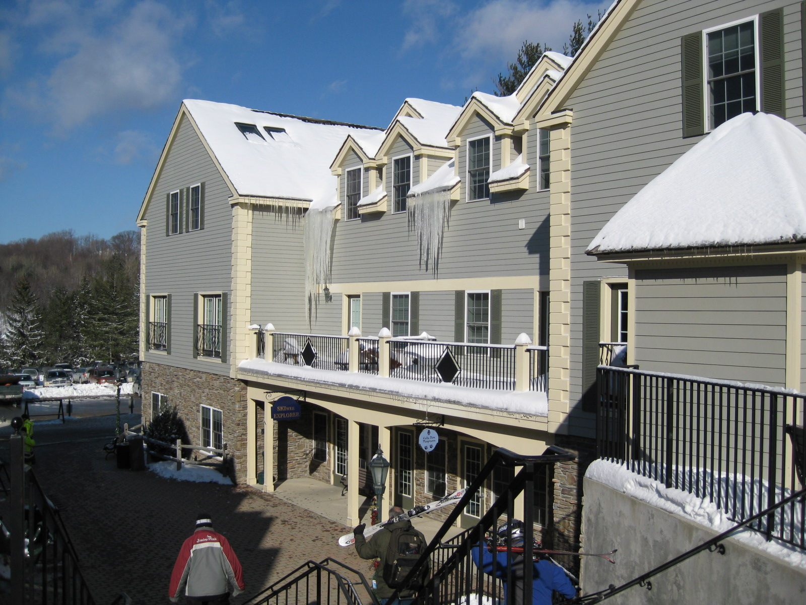 Village Center/Mountainside Condos at Jiminy Peak