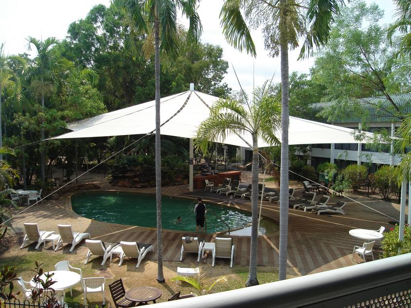 Pool area at Mercure Kakadu Crocodile Hotel. Image courtesy of TripAdvisor