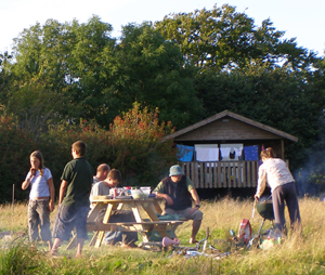 Wheatland Farm eco lodges