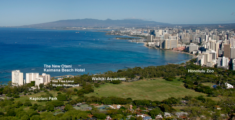 ‪The New Otani Kaimana Beach Hotel‬