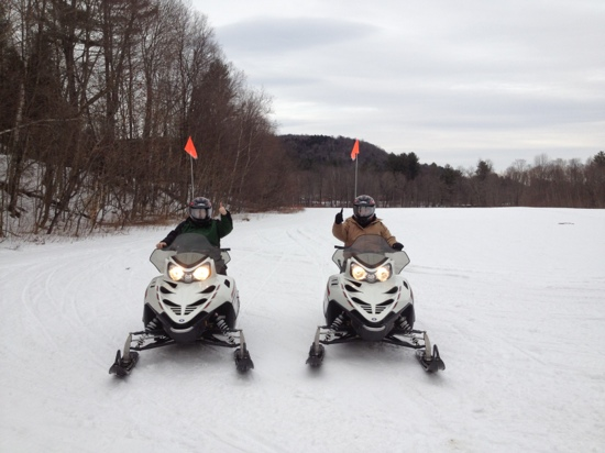 Snowmobile Vermont - Stowe Snowmobile Tours