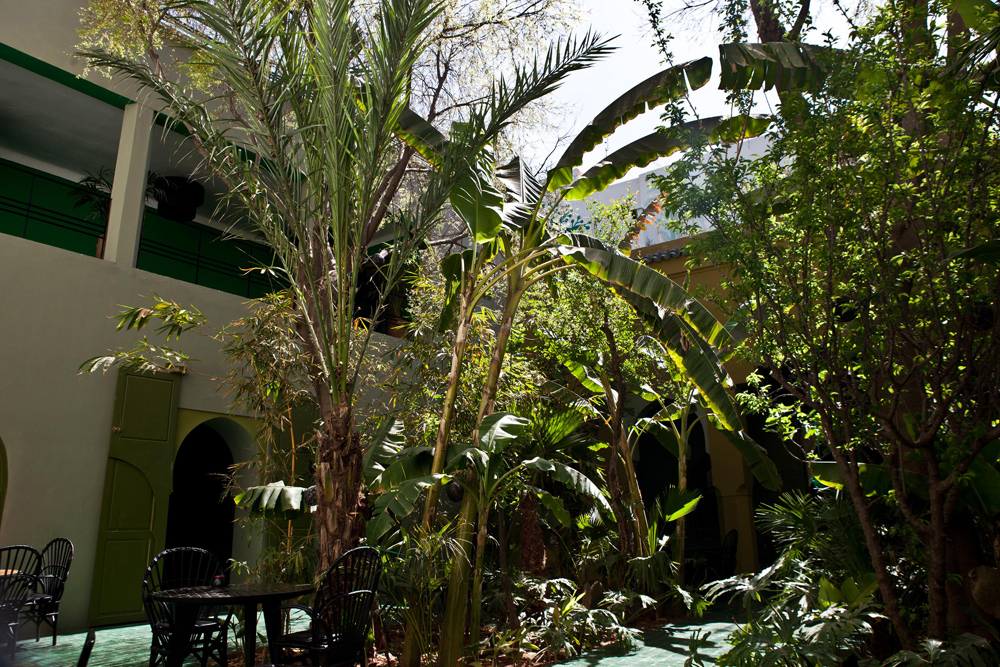 Romantic environment le jardin marrakech tensift el for Jardin marrakech
