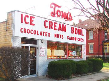 Tom's Ice Cream Bowl