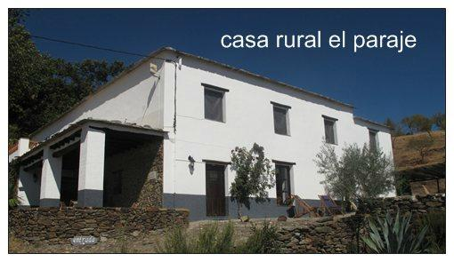 Casa Rural El Paraje
