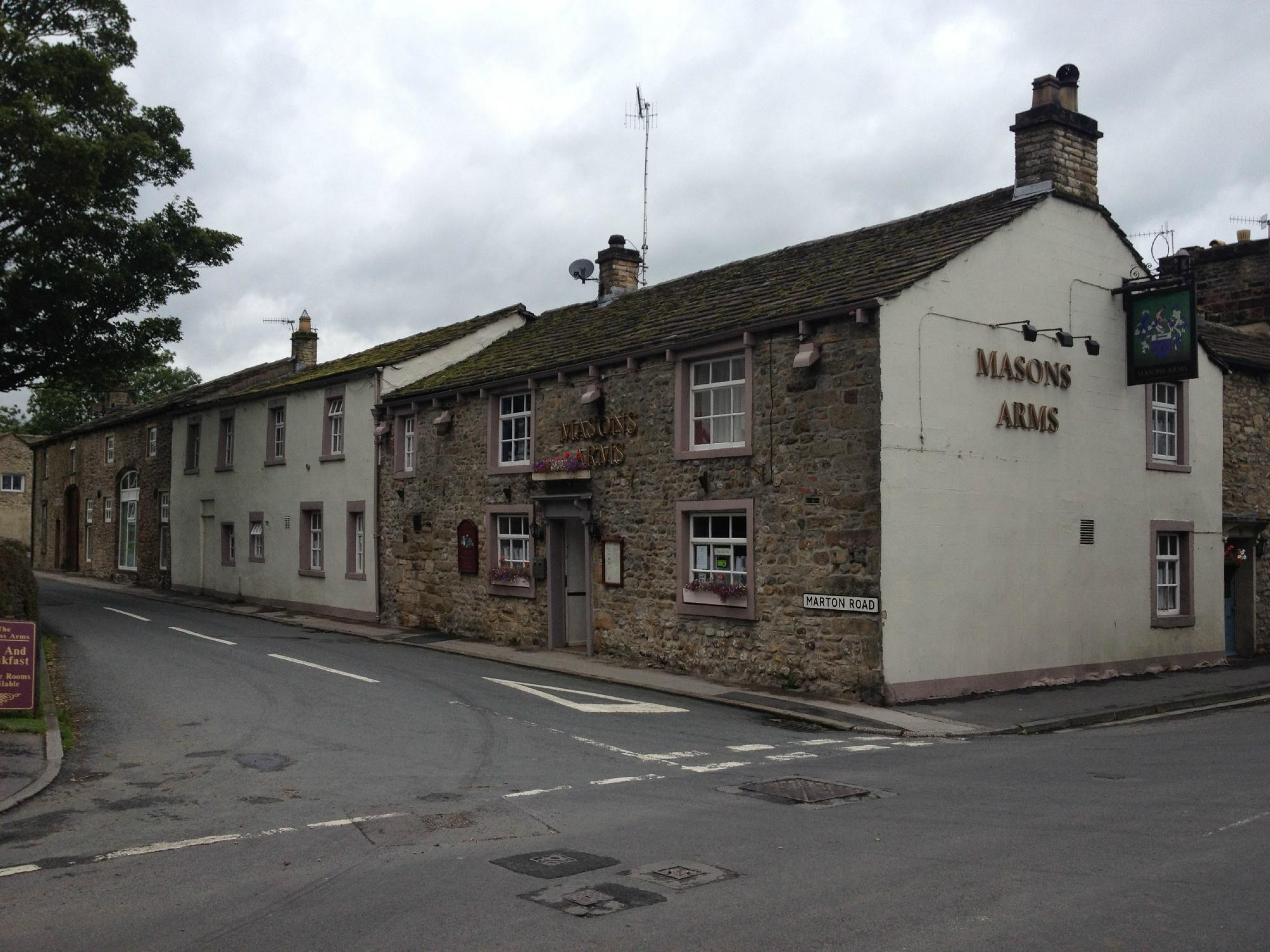 Masons Arms Gargarve