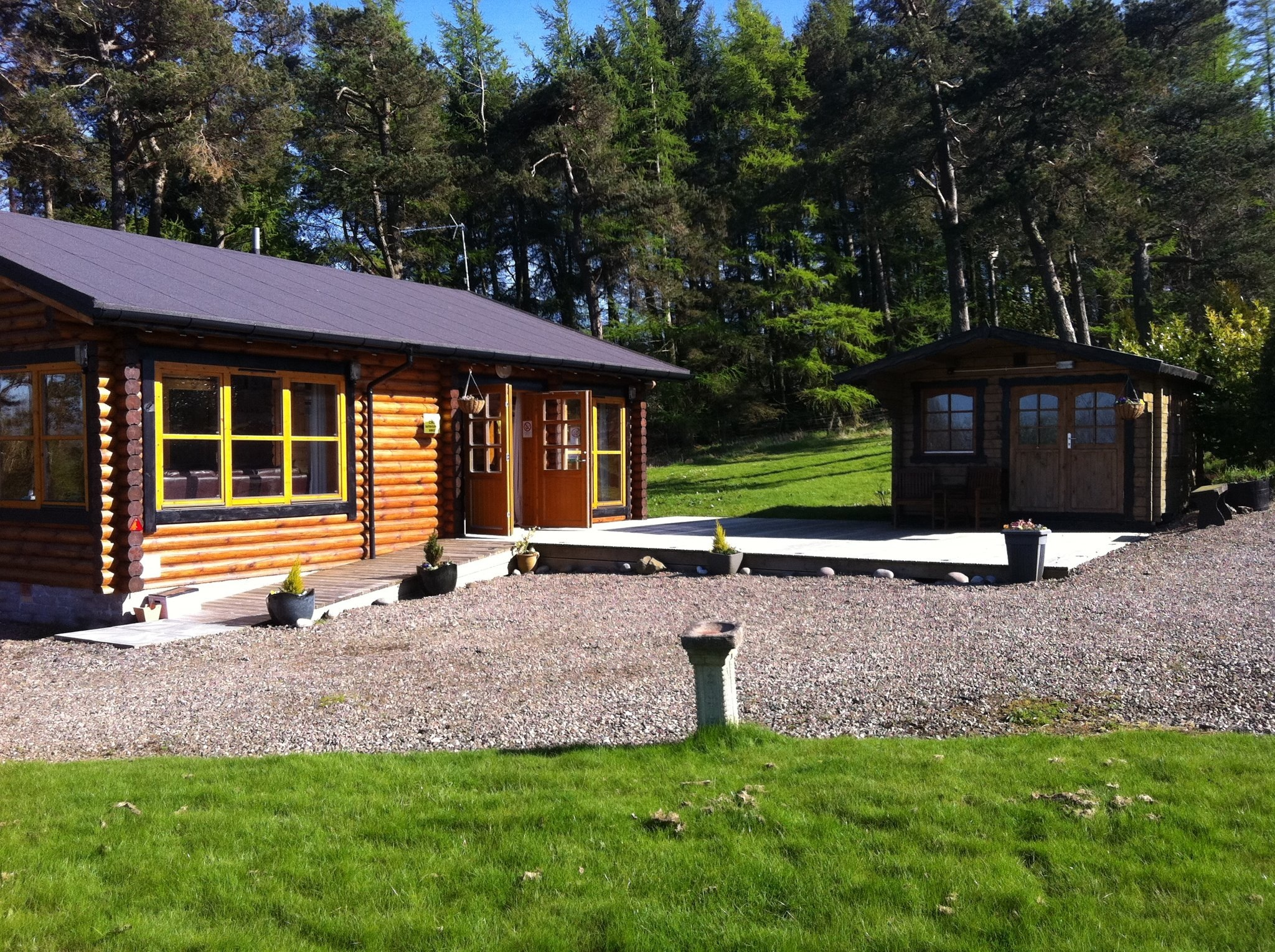 Duncrievie Farm Cabins