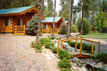 Silver Wolf Log Chalets