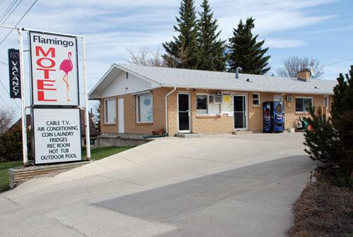 ‪Cardston Flamingo Motel‬
