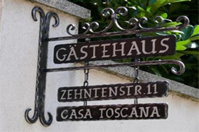 Casa Toscana Gastehaus Bed & Breakfast