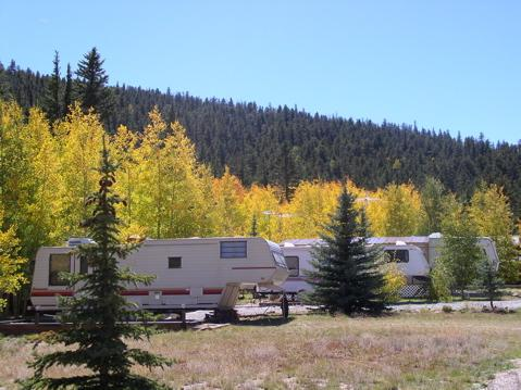 Campground Of The Rockies