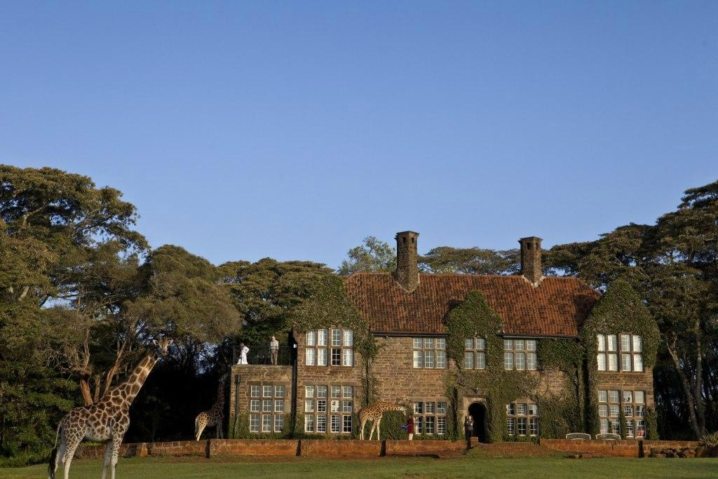 ‪Giraffe Manor‬