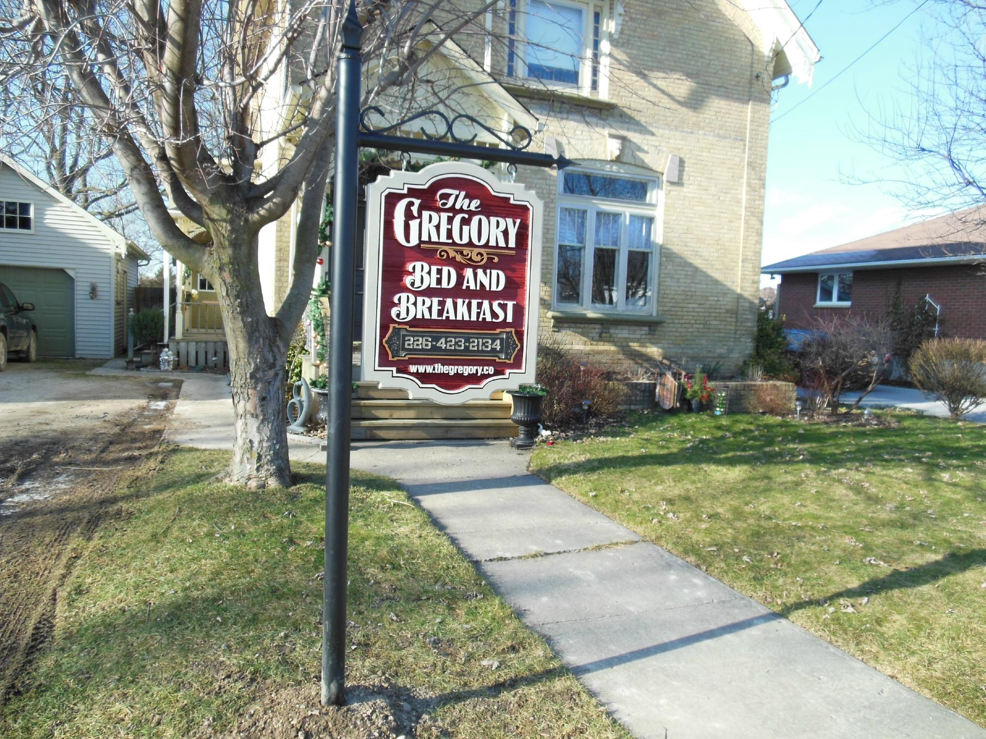 The Gregory Bed & Breakfast