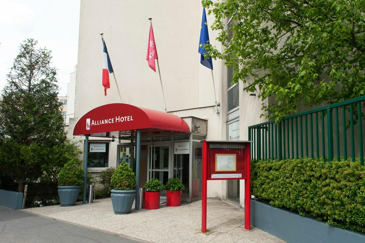 Alliance Hotel Paris Porte Saint Ouen