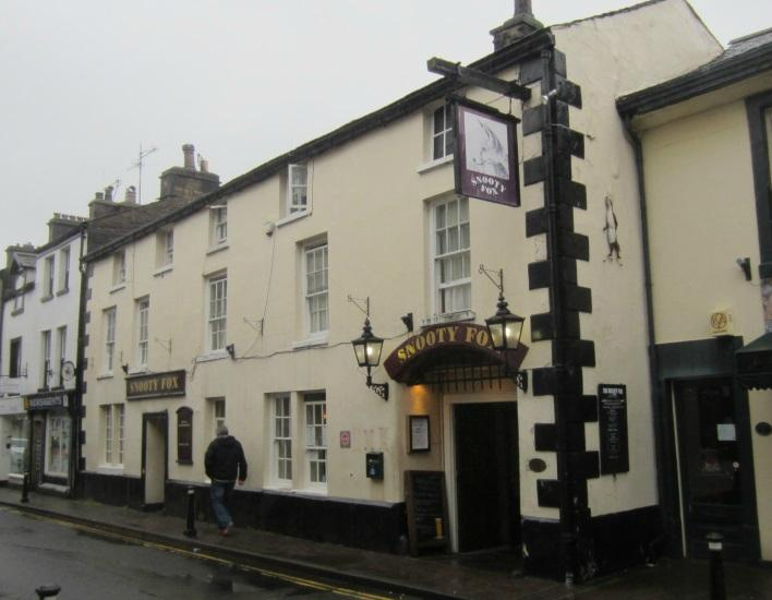 Snooty Fox Hotel Kirkby Lonsdale