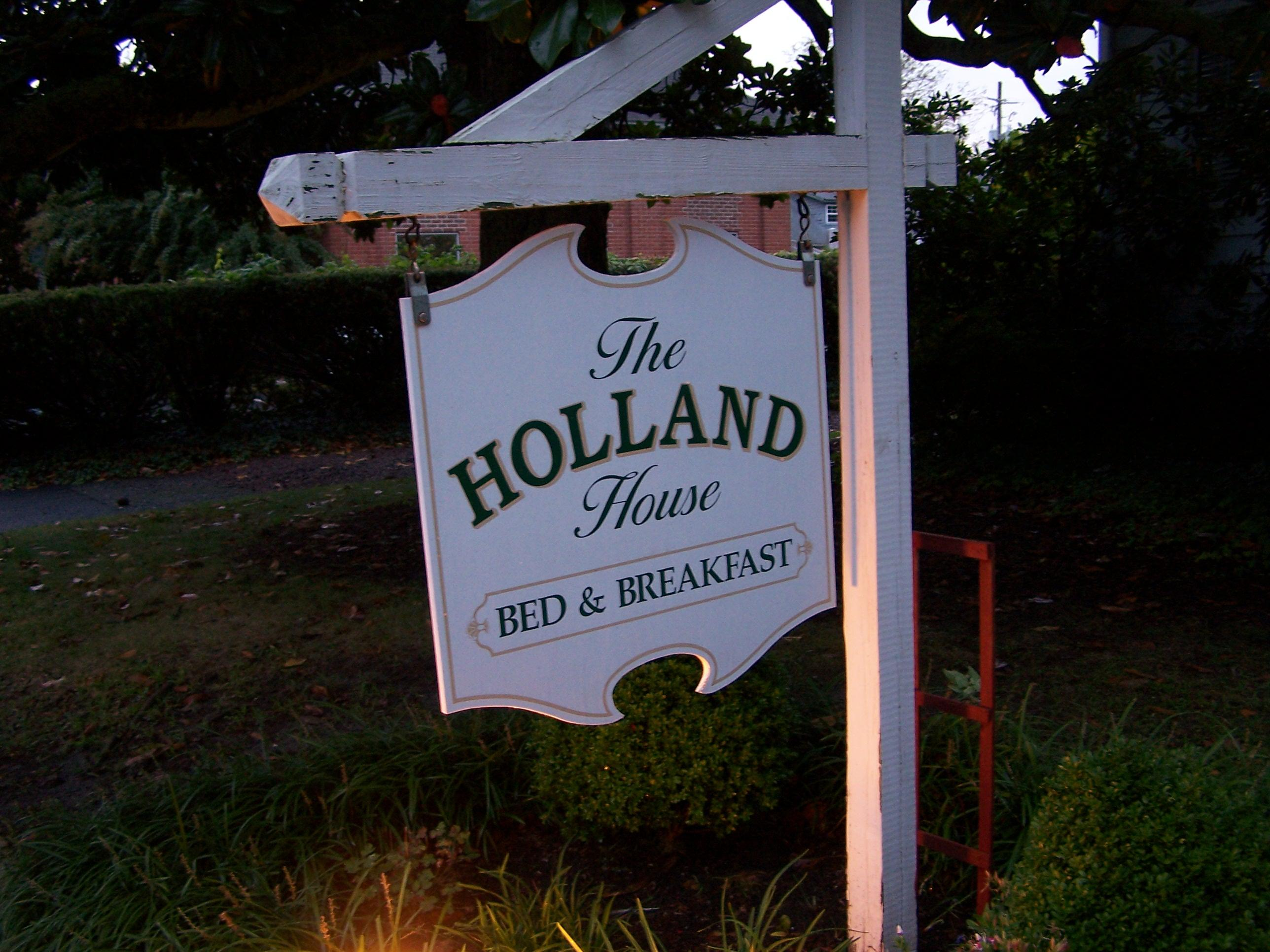 Holland House Bed and Breakfast